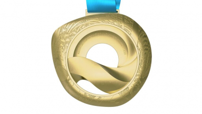 "ANOC WORLD BEACH GAMES MEDALS SIGNIFY ""BEAUTIFUL CONNECTION TO NATURE"""