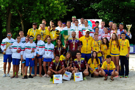 The VI World Team beach tennis Championship, which was held with support of the Moscow Department of sport and tourism, ended.