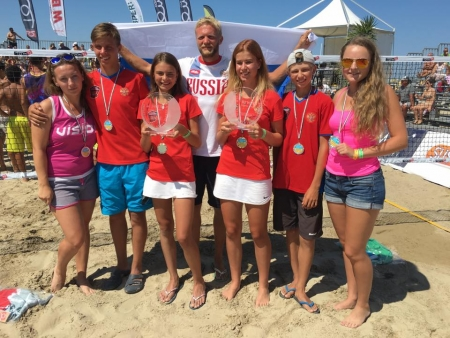 The World Championship in Cervia: Russia and Italy on the podium of the junior competitions