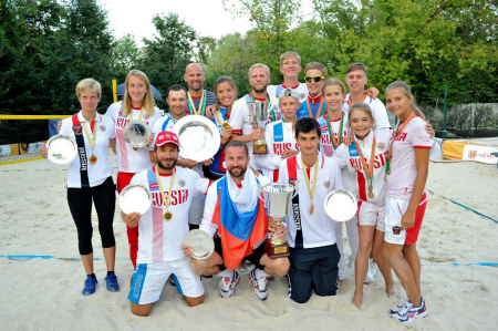 Beach Tennis World Team Championship has started in Moscow