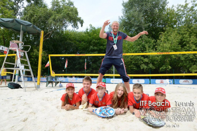 Announced the age of the Junior ITF Beach Tennis World Team Championship