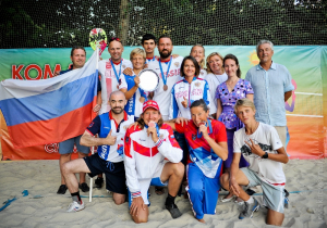 Russian national team – bronze medalist of Beach Tennis World Team Championship