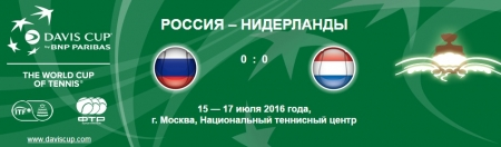 "Viewers of the Davis Cup match ""Russia – Netherlands"" can support the athletes at the World Team Beach Tennis Championship!"