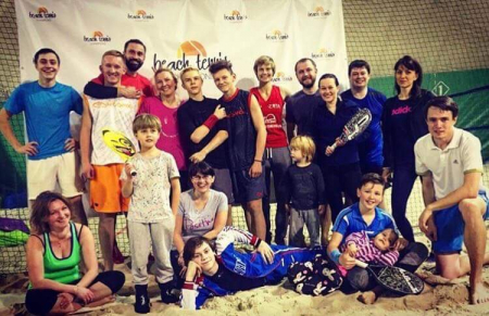 THE FIRST BEACH TENNIS ACADEMY IN RUSSIA