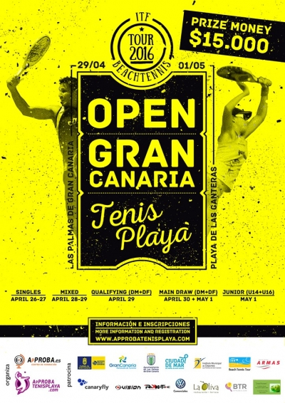The Open Gran Canaria ITF Beachtennis Tour 2016
