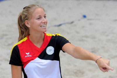 Interview with Maraike Biglmaier for Beach Tennis Russia
