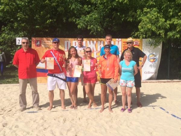 V юбилейный Чемпионат России по пляжному теннису финишировал