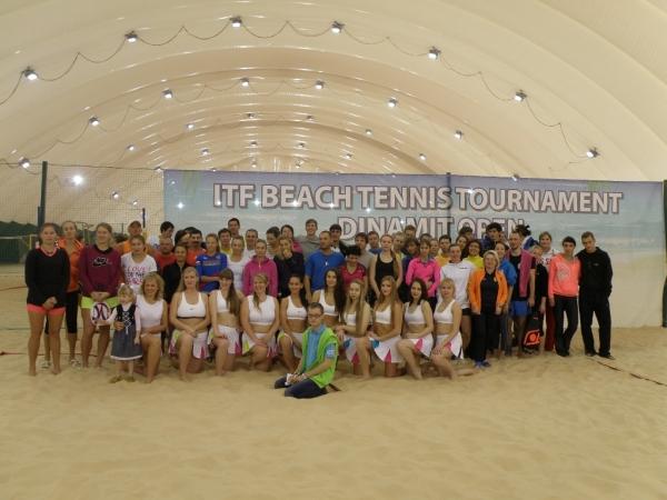 Результаты Международного турнира по пляжному теннису ITFG3 Dinamit Open 2014PDFПечатьE-mail Новости - 2014 год